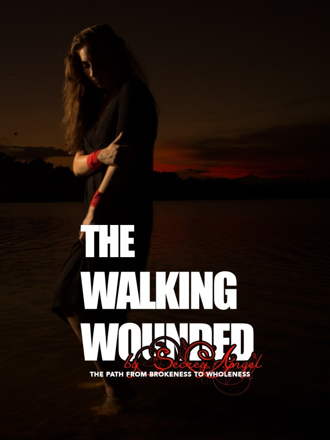 THE WALKING WOUNDED by Secret Angel... get your copy today! http://www.thewalkingwounded.us/